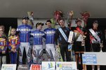 Podium complet Bordeaux-Saintes 2012